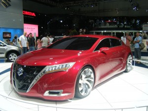 Suzuki Kizashi concept