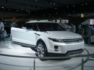 Land Rover LRX Concept