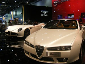 Alfa 8C Spider